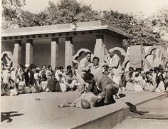 Historical Times — Seconds after the murder of Mahatma Gandhi by...