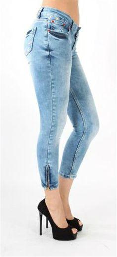Paçadan Fermuarlı Jeans Pantolon | Modelleri ve Uygun Fiyat Avantajıyla | Modabenle