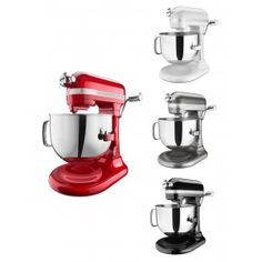 Shop online for KitchenAid Stand Mixer - 7 qt - Pro Line at Golda's Kitchen; the leading Canadian on-line shopping site for quality bakeware, cookware, and cake decorating supplies. Kitchen Stand Mixers, Kitchen Aid Mixer, Small Appliances, Kitchen Appliances, Kitchenaid Stand Mixer, Cake Decorating Supplies, Cool Kitchens, Good Things, Diy Kitchen Appliances