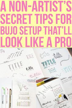 If you're looking for some tips and trick for beginners to set up your bullet journal even if you're non-artist, this is your Go-To #anjahome #bulletjournalsetup #bulletjournal