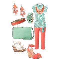 Mint & Coral