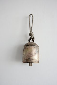 In love with these kind of bells. Beautiful as wind chimes or as unusual wall ormanents. Great etsy store.