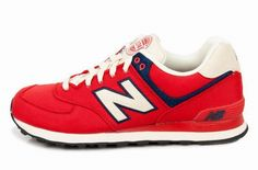 Joes New Balance ML574RUR Red Rugger Mens Shoes