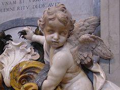 Cherub in St Peter's Basilica Vatican City