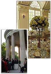 DAR National Society Washington, DC  Many weddings on the Portico right next to the White House!