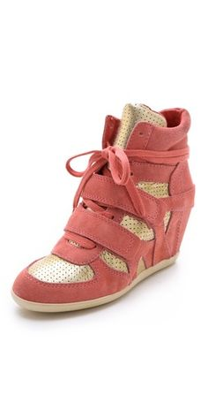 Want! Ash Bea Wedge Sneakers