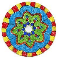 Mandala CD art