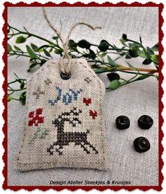 Christmas Freebie Atelier Steekjes & Kruisjes