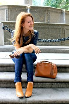 OUTFIT {J.CREW LEATHER TEE}