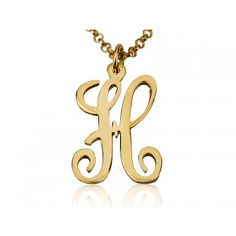 Sometimes the girls arrive in a quandary as to what gift to give for the hubby, boyfriend, father, brother, or even a male boss.  Women will be surprised that men actually like pendants. So what better gift to give than a gold pendant with the man's first letter of his name? Get this 14K Solid Yellow Gold Monogram Initial Letter today!