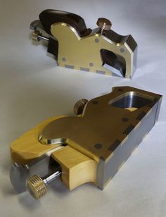 Holtey Classic Handplanes - Details and photographs of the Bullnose Infill plane made by Karl Holtey. Woodworking Planes, Woodworking Hand Tools, Woodworking Bench, Woodworking Projects, Welding Projects, Lumber Storage, Tool Storage, New Technology Gadgets, Wood Plane