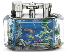 RDM - Rolex Dunhill Montblanc Luxury Collectors & Connoisseurs International Club   Per info e acquisti: Danilo Arlenghi 335 6815268 daniloarlenghi@partyround.it  Photo 3 : Dunhill aquarium fish deep blue
