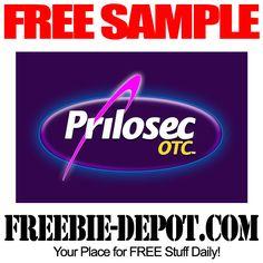 FREE SAMPLE – Prilosec OTC