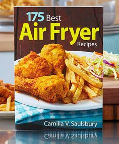 175 Best Air Fryer Recpes is perfect for those who love the crispy, crunchy texture of fried foods but hate the calories and fat that come with them.