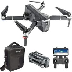 Contixo Foldable Drone Quadcopter HD Live Video GPS Drones - FPV Drone with Camera for Adults and Beginner - Battery 30 Mins Flight Time - Foldable Brushless Motors - Carrying Case Wifi, Foldable Drone, Vr Headset, 4k Uhd, Drone Quadcopter, Best Deals Online, Fun To Be One, Videos, How To Memorize Things