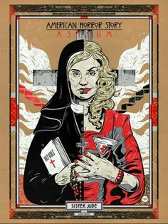 Image uploaded by Frau Neuer. Find images and videos about Queen, american horror story and ahs on We Heart It - the app to get lost in what you love. American Horror Story Asylum, American Horror Story Tattoo, Cultura Nerd, Ahs Asylum, Cinema Tv, Film Serie, Horror Art, Horror Stories, Images