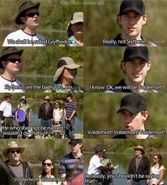 Jim and Dwight! Love their interactions.