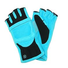 Isotoner Women's Fleece Stretch Convertible Gloves with Thumb Hole (Aqua Sea) *** Check this awesome product by going to the link at the image. (This is an affiliate link) Womens Slippers, Nice Tops, Fingerless Gloves, Cold Weather, Convertible, Perfect Fit, Stretches, All In One, Aqua