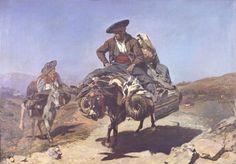 Frank Buchser - Ride to Seville