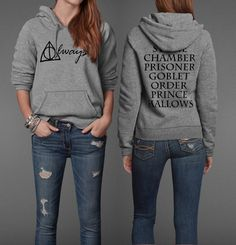'Always' perfect  I need this hoodie!