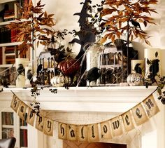 Happy Halloween Banner | Pottery Barn