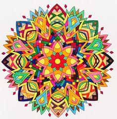 ColorIt Mandalas to Color Volume 1 Colorist: Jan Long