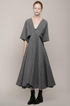 Limi Feu- Trapeze Neck Dress