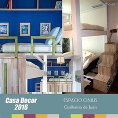 Dormitorio Casa Decor 2016 espacio Cinius Guillermo de Juan - #casadecor2016 #tendenciadecoraciondormitorios #tendenciadecoracionhabitaciones #interiordesign #novedadesdecoracion2016 #tendenciadecoracion2016