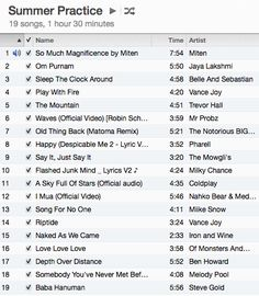 Music for living. - Rachel Brathen loveeeeee this and i use these songs for meditation, yoga, dancing, working out.