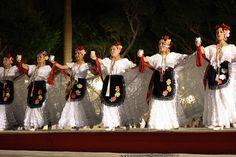 Bailable Veracruz  Grupo de Baile en el centro de Veracruz, donde se puede apreciar a las chicas Lucir el Traje Tipico Veracruzano. Un detalle interesante que comentaron al presentar el grupo, es que el adorno de flores que llevan las mujeres en el pelo, cambia de lado si son casadas o aun solteras.
