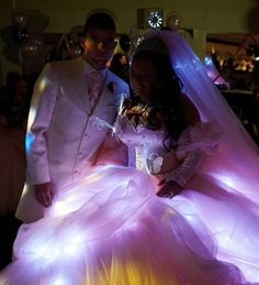 My Big Fat Electric Wedding Dress from I Heart Switch