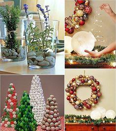 25 ideias simples, fáceis e econômicas para #Natal no #Simplesdecoracao