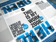 Cool Typeography Print Advertisements