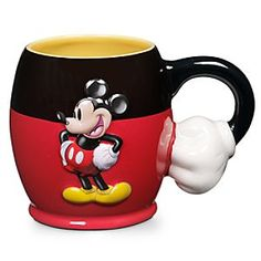 Disney Best of Mickey Mouse Coffee Mug | Disney StoreBest of Mickey Mouse Coffee Mug - Wake up your smile with our Best of Mickey Mouse Coffee Mug. Mickey's trademark red pants make a silly cartoon cup for any hot beverage!