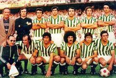 Equipos de fútbol: REAL BETIS BALOMPIÉ Campeón de Copa 1977