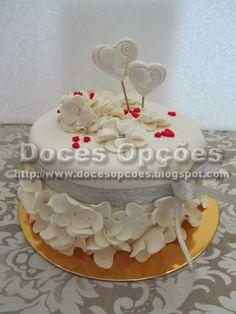 Doces Opções: Bolo aniversário de casamento