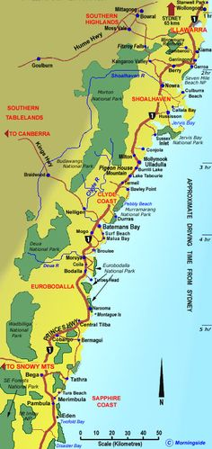 Clickable map of the towns and regions of the South Coast of NSW australia Next Holiday, Holiday Pictures, South Coast Nsw, The Beautiful South, Australian Beach, Book Images, Adventure Is Out There, South Wales, Tasmania