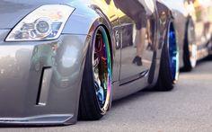 Livin' the stance life Nissan 350Z
