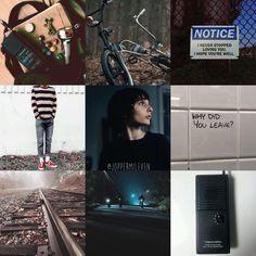 stranger things mike wheeler aesthetic / mood board