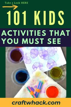 Here's a book of kid's activities that you must see today! Flip through the pages of the book and immediately see thing after thing you want to do with your kids. If you are inspired to do some project with your kids, check out this pin for more details. #kidsactivities # Crafts For Kids To Make, Projects For Kids, Art For Kids, Drawing Prompt, Drawing Ideas, Unique Wall Art, Fun Activities For Kids, You Must, Writing A Book