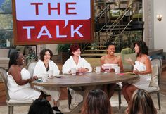 The hosts of 'The Talk' on September 10, 2012.