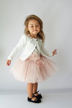 Tulle Petal Skirt. Ballerine-inspired ruffly tulle by AylinkaShop