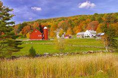 Vermont Farm to paint