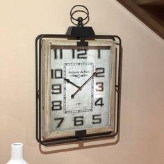 Paris, Square Watch, Clock, Metal, Accessories, Tree Hut Watches, Gears, Blue Nails, Watch