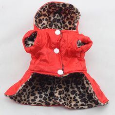 Find More Dog Coats & Jackets Information about Cute Pets Dogs Leopard Dress Tops Puppy Cotton Hoodie Clothes XS XL Costumes Hot Sale,High Quality cute pet,China dog leopard Suppliers, Cheap pet dog from Maoyuan Store on Aliexpress.com