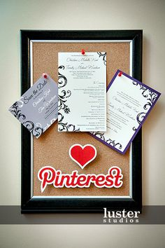 My friend Craig was the photographer at a Pinterest inspired wedding... yes, you read that right. cc. @lusterstudios