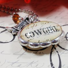 Giddy up Cowgirl Oval Charm/Necklace from Etsy: http://www.etsy.com/listing/75249062/giddy-up-cowgirl-oval-double-bubble?ref=sr_gallery_1_search_submit=_search_query=Cowgirl_order=most_relevant_ship_to=US_view_type=gallery_page=5_search_type=handmade_facet=handmade