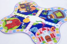 Faitytale Planet Board Game by Lia Oktaviani Handoko, via Behance