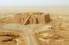 The Ancient City of Ur, Iraq. My son was given special permission to visit here while stationed in Iraq, pics were amazing