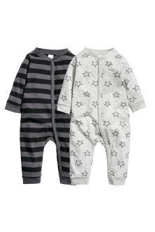 c073b4a577711 2-pack jersey pyjama suits Fringues